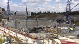 Quelques photos des chantiers du Grand Paris avec le matériel CFE Location