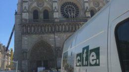 Retour sur chantier : notre robot télécommandé BROKK 330 au cœur de Notre-Dame de Paris